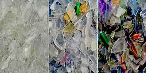 سورتر شیشه و پلاستیک بازیافتی